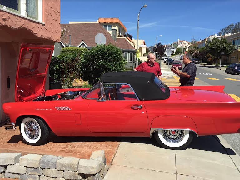 Ford Thunderbird Hire San Francisco