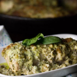 Low Carb Chicken Florentine