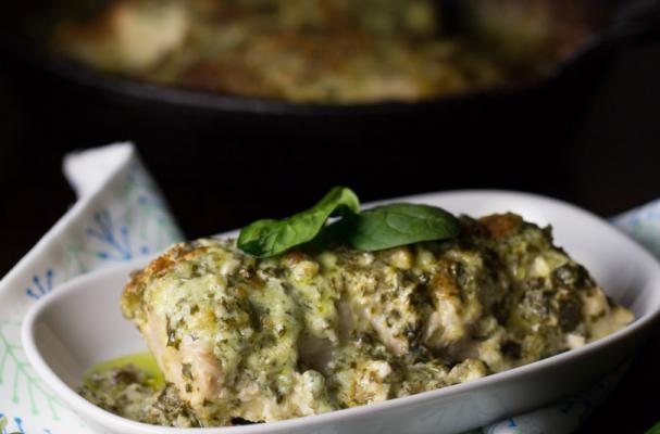 Low Carb Chicken Florentine Recipe
