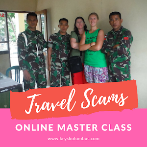Travel Scams around the World Master Class and Online Course | Krys Kolumbus Travel