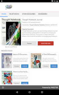 Thought Notebook Journal- screenshot thumbnail