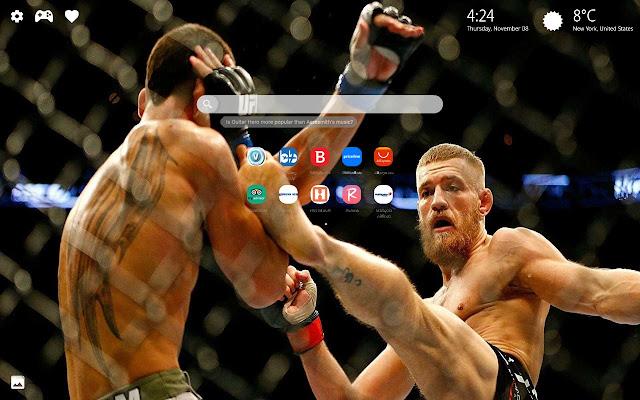 Conor McGregor Wallpaper HD New Tab Themes