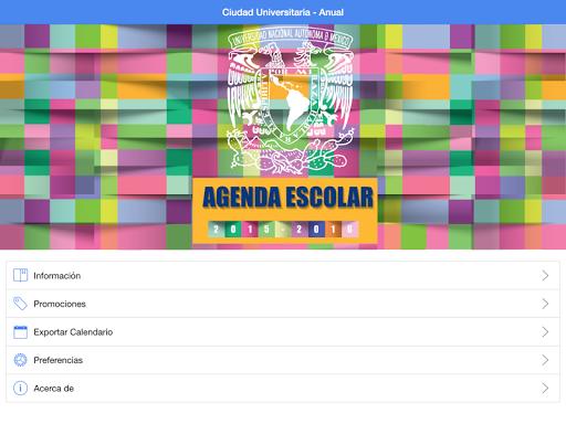 Agenda Escolar UNAM