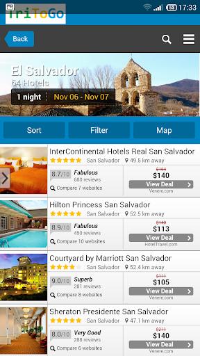 Hotels El Salvador tritogo.com