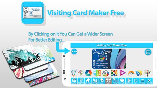 Visiting Card Maker Free  screenshots 2