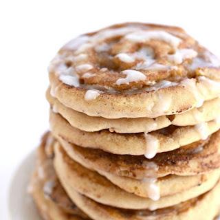 Vegan Cinnamon Roll Pancakes