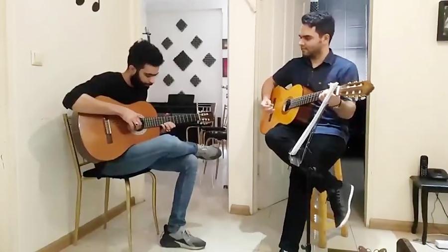 آخرین روز میلاد سنگستانی هنرجوی گیتار فرزین نیازخانی