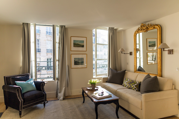 Living area at Saint Place Dauphine Classic