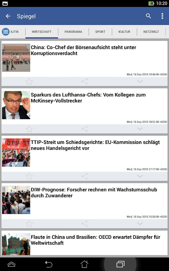 Germany News- screenshot