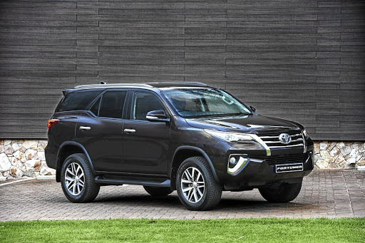 The Toyota Fortuner.  Picture: QUICKPIC