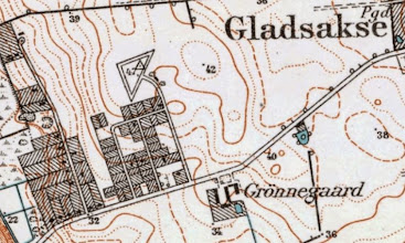 Photo: Gladsaxefortet 1945