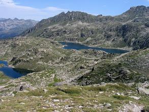 Photo: Val d'Aran:  lac Major i a sota (esq) el Naut de Saboredo