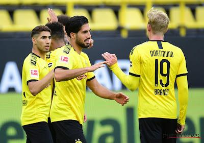 Derby de la Ruhr : Dortmund privé d'un cadre, testé positif au Covid-19
