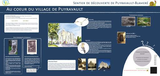 Sentier découverte pédagogique Puyravault Blameré