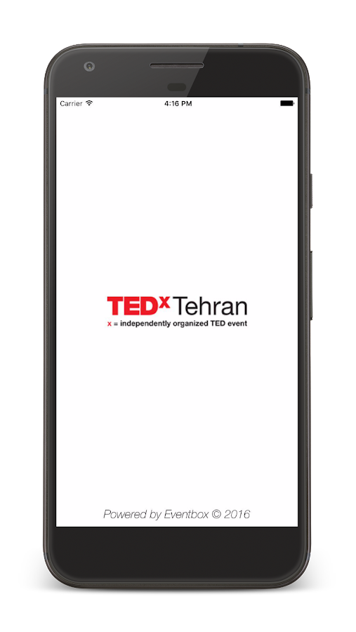 TEDxTehran Connect- screenshot