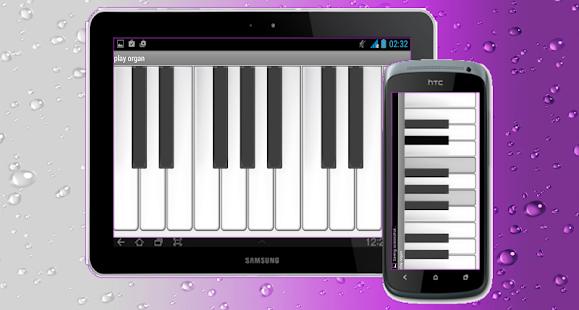 hrát virtuální varhany - náhled