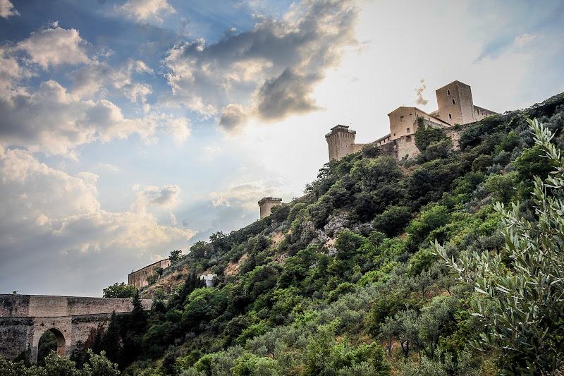 Rocca Albornoziana, Spoleto di marchiriccardo