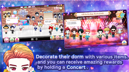 MY STAR GARDEN with SMTOWN APK screenshot thumbnail 3