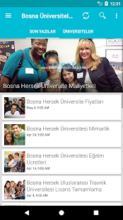 Bosna Üniversiteleri- screenshot thumbnail