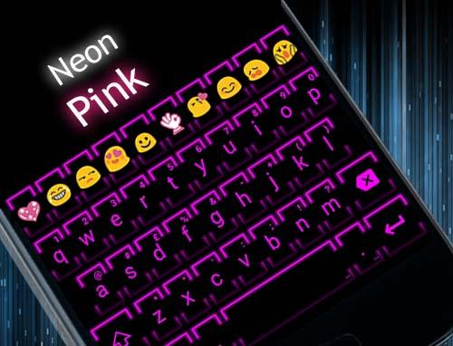 NeonPink Emoji キーボード|玩個人化App免費|玩APPs