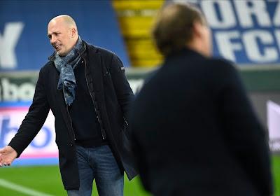 """Philippe Clement regrette: """"Mes joueurs ont trop pensé à Malines"""""""