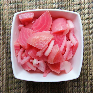 Pickled Pink Beets