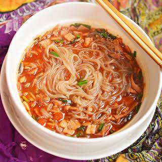 Korean Style Noodles.