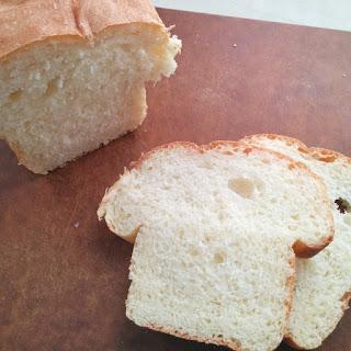Soft Asian milk bread.