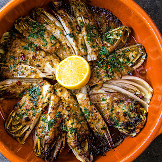 Belgian Endive and Blue Cheese Gratin