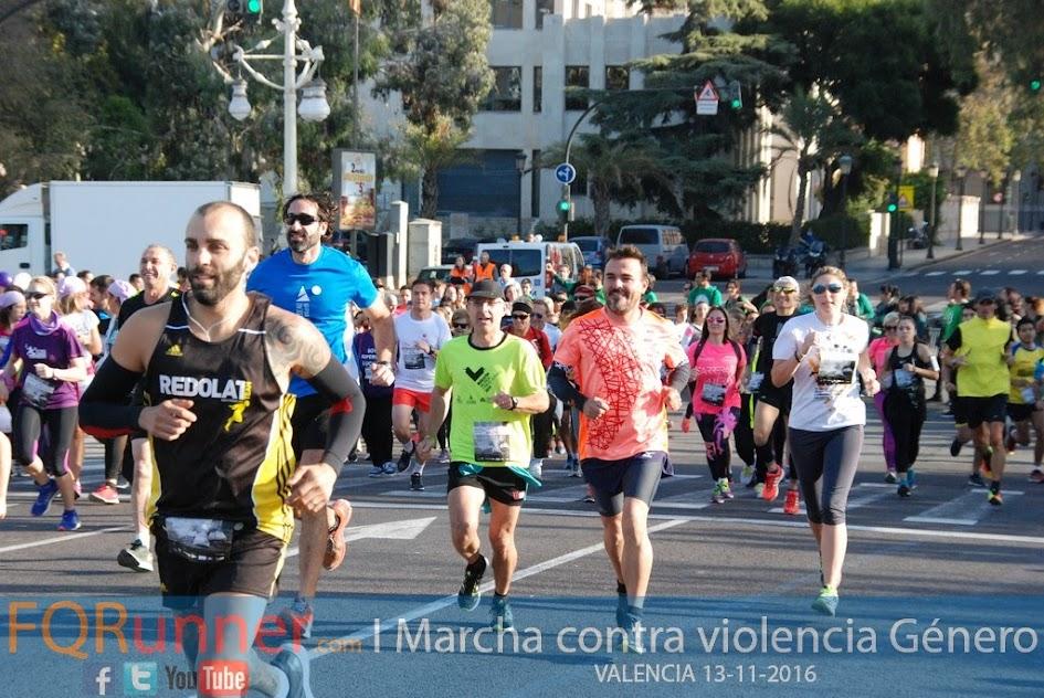 I Marcha contra la violencia de Género Valencia 2016