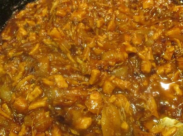 Stir until mixture is completely heated through.