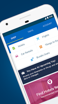 Expedia Hotels, Flights & Cars APK screenshot thumbnail 1