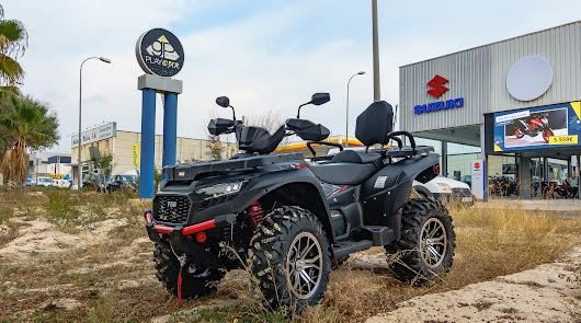 Indalmar Motor presenta el buque insignia de la familia de ATVs , el TGB Blade