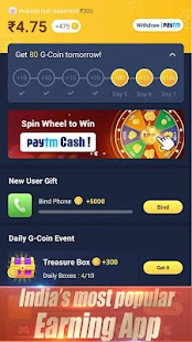 GALO Earn money Play games Screenshot