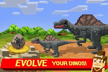Jurassic Pixel Craft: dino age 5