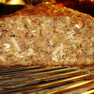 Banana-Coconut Oatmeal Bread