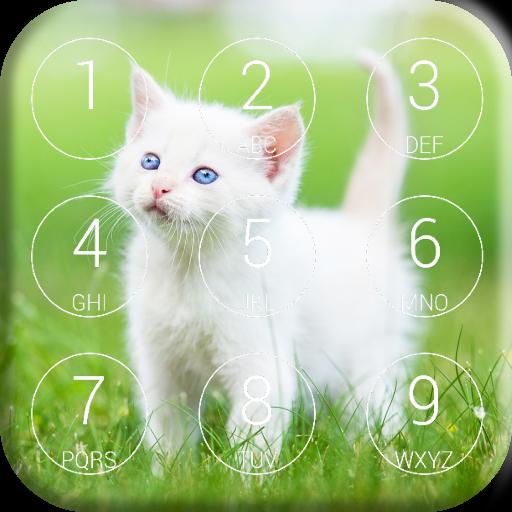 Kitten Lock Screen