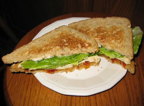 Vegetarian Sun-dried Tomato, Peanut Butter, And Tofu Sandwich