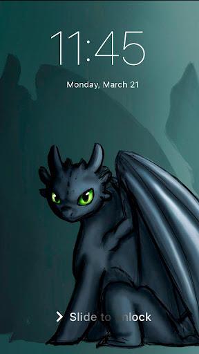 Toothless Cute Dragon Wallpaper App Lock photos 2