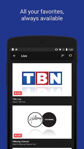 TBN: Watch TV Shows & Live TV 4.401.1 screenshots 3