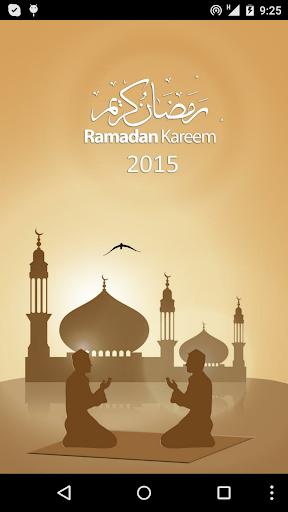 Ramadan 2015 Times Calendar