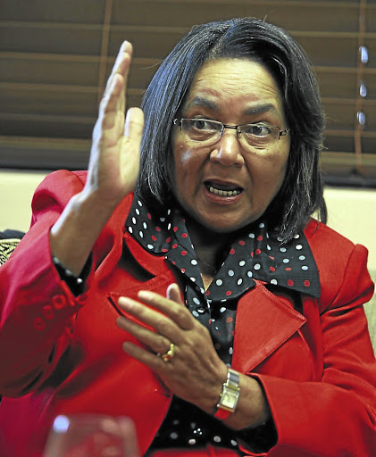 Open to due process: Cape Town's DA mayor Patricia de Lille, who is now effectively governing on an ANC mandate, says a way of uniting the DA's city council caucus must be found. Picture: ESA ALEXANDER