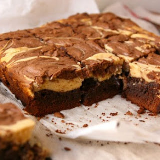 Peanut Butter And Chocolate Swirl Cheesecake Brownies