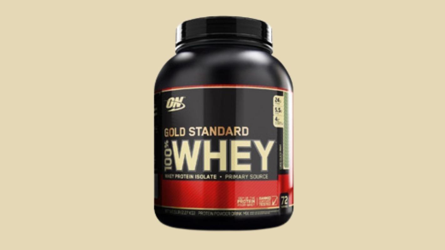 1. Optimum Nutrition Whey Protein Gold Standard 5LB