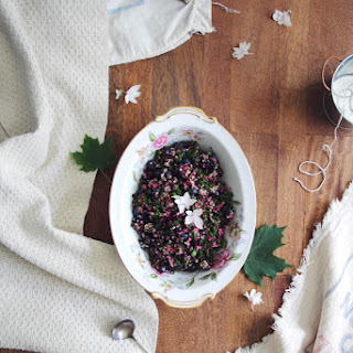 Black & Blue Berry Tabbouleh