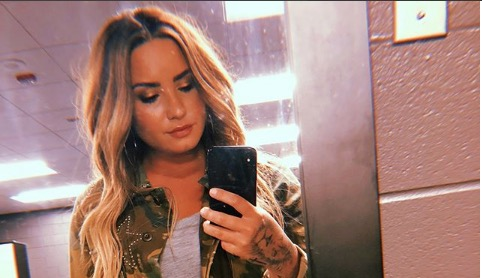 Demi Lovato is grateful for all the love and support she's received.