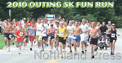 Photo: The annual Outing 5K Fun Run sponsored by the Outing Area Chamber was held on Saturday, July 31, 2010