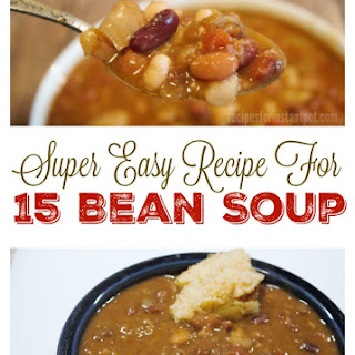 15 Bean Soup in Instant Pot.