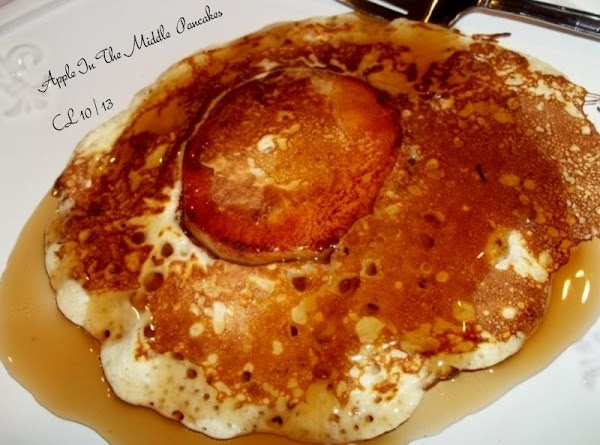 Apple In The Middle Pancakes Recipe