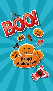 Halloween Sticker - náhled